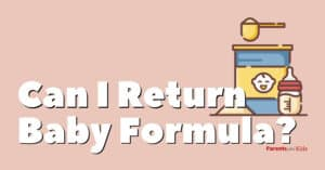 Can You Return Baby Formula?