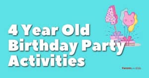 10 Fun Birthday Party Activities For 4 Year Olds