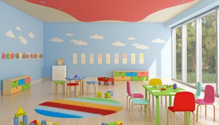 a nursery room
