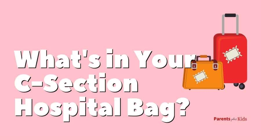 what's in your c-section hospital bag