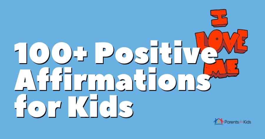 evening and morning affirmations for kids