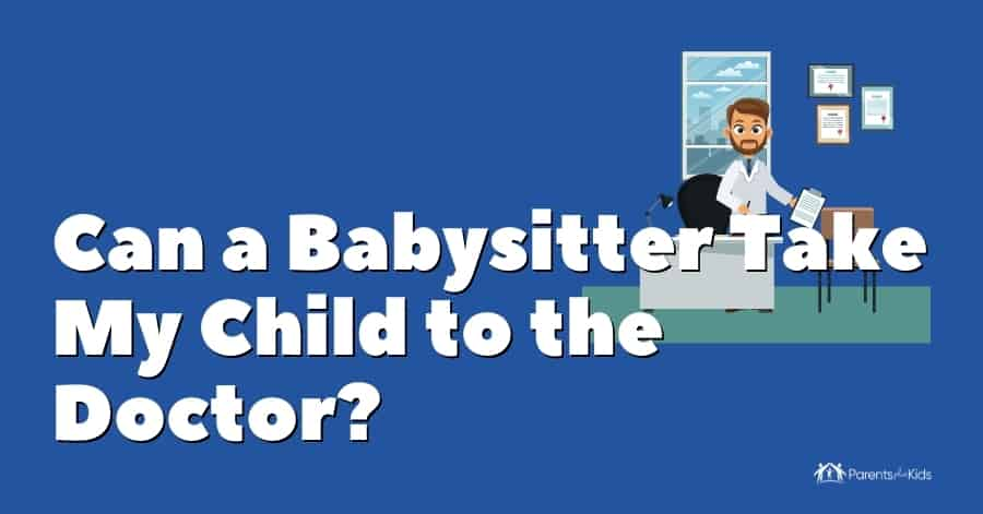 babysitter taking kid to doctor featured image