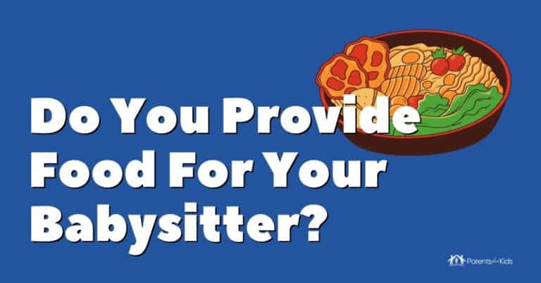providing food for sitter featured image