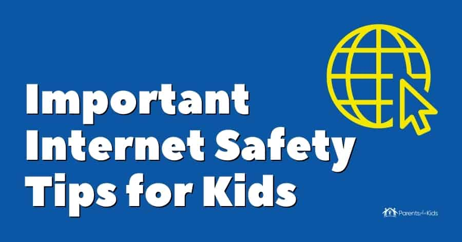 safety internet tips for kids featured image